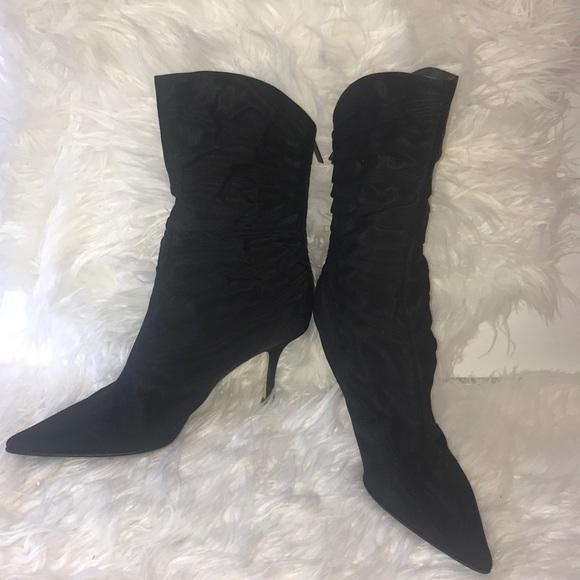 1f607725aa9 NWT Jimmy Choo fabric boots size 38.5